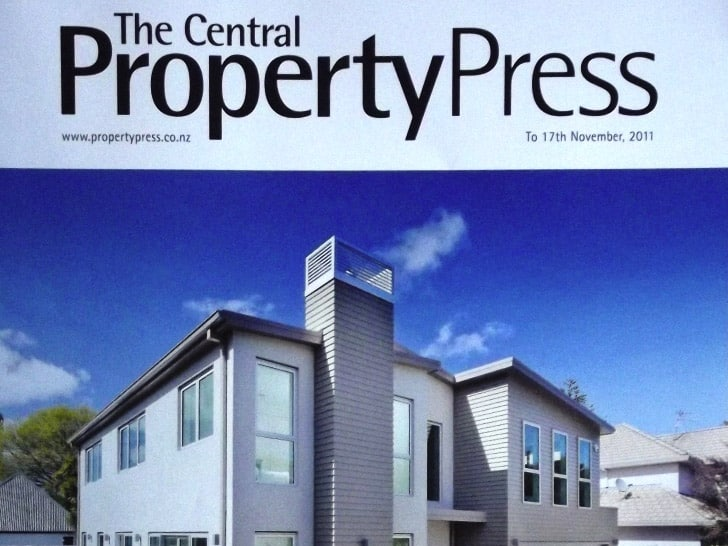 Auckland Central Property Press Cover Page